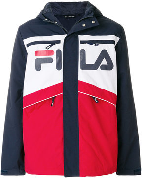 Fila logo colour-block jacket