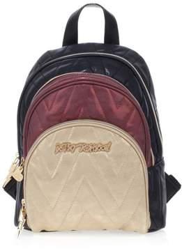 Betsey Johnson Chevron Backpack