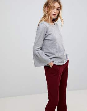 B.young Fluted Hem Top