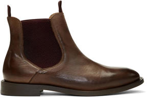 H By Hudson Brown Wynford Chelsea Boots
