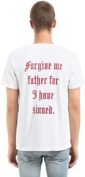 RtA Printed Cotton Jersey T-Shirt