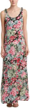 Cotton Candy Floral Maxi Dress