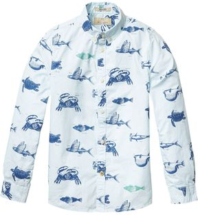 Scotch & Soda All-Over Printed Shirt