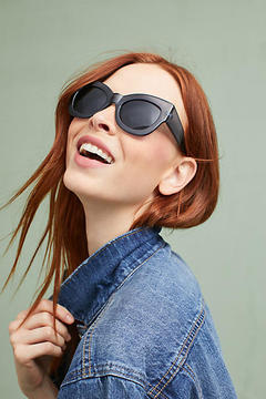 Anthropologie Wintour Cat-Eye Sunglasses