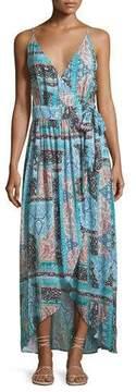 Seafolly Moroccan Moon Maxi Wrap Dress