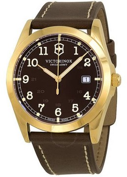 Victorinox Infantry Leather Mens Watch 241645