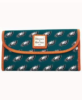 Dooney & Bourke Philadelphia Eagles Clutch - GREEN - STYLE