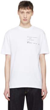 McQ White No Wave T-Shirt