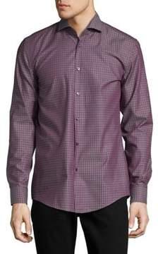 HUGO BOSS Hugo by Slim-Fit Cotton Button-Down Dress Shirt