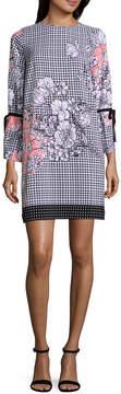 ECI WESLEE ROSE Long Printed Dress