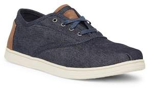 Toms Donovan Blue Denim Sneaker
