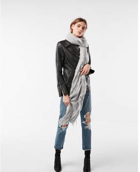 Express ruffle fringe scarf