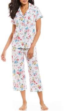 Karen Neuburger Floral-Print Capri Pajama Set
