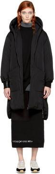 Enfold Black Down Taffeta Jacket