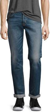 Hudson Men's Blake Double-Cuff Slim-Straight Jeans, Blue