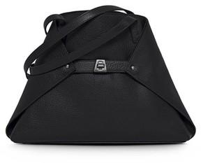 Akris Small Ai Leather Tote - Black