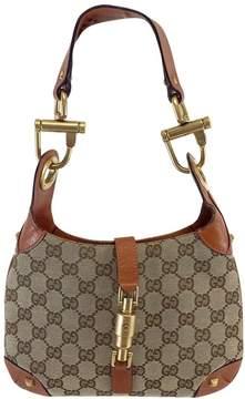 Gucci Tan Monogram Small Shoulder Bag - TAN - STYLE