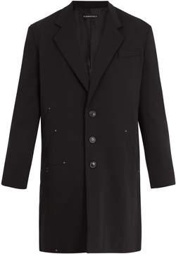 Y/Project Notch-lapel wool overcoat