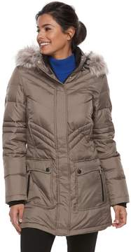 Free Country Women's Hooded Down Jacket