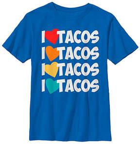 Fifth Sun Royal 'I Love Tacos' Tee - Boys
