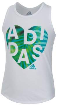 adidas Girls Neon Field Day Muscle Tank Top