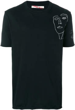 Damir Doma printed chest T-shirt