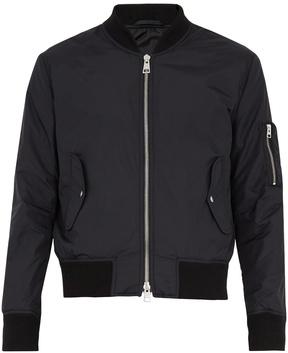 Ami Zip-through technical bomber jacket