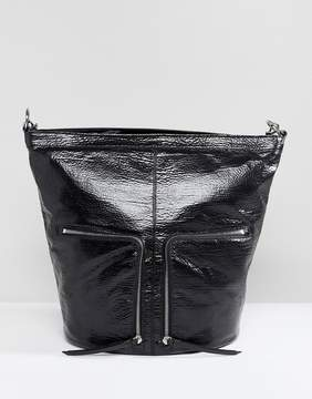 AllSaints Fetch Backpack with Zip Detail