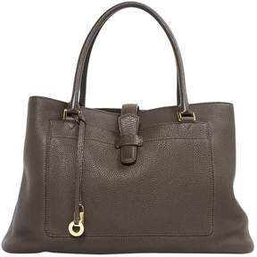 Loro Piana Brown Leather Handbag