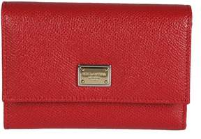 Dolce & Gabbana Fold-out Purse - RED - STYLE