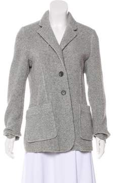 ATM Anthony Thomas Melillo Wool-Blend Knit Blazer