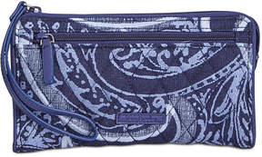 Vera Bradley Rfid Front-Zip Wristlet