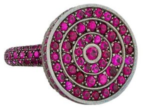 Boucheron Ruby Cocktail Ring