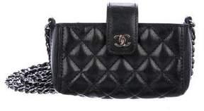 Chanel O-Phone Holder Crossbody Bag