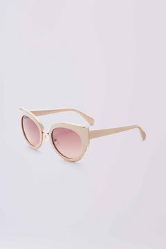 Diane von Furstenberg Norah Cat Eye Sunglasses