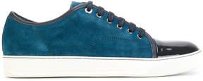 Lanvin patent cap toe sneakers