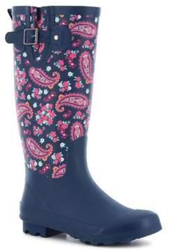 Western Chief Women's Classic Tall Pleasant Paisley Rain Boots