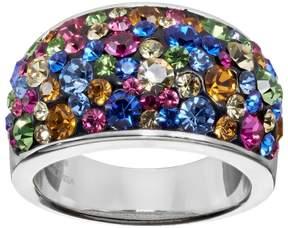 Confetti Multicolor Crystal Dome Ring