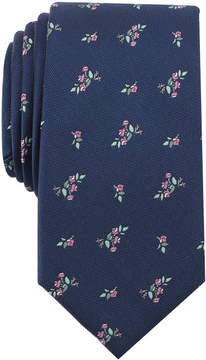 Bar III Men's Dees Floral Skinny Tie, Created for Macy's