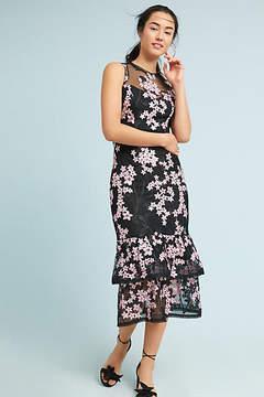 Shoshanna Dominic Tiered Midi Dress