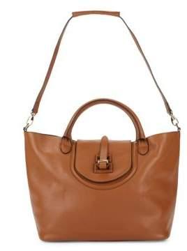 Halo Leather Crossbody Bag