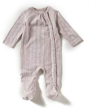 Jessica Simpson Baby Girls Newborn-9 Months Long-Sleeve Footed Coverall