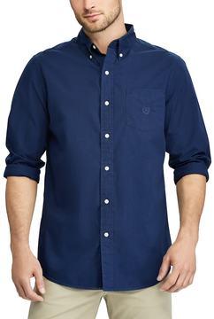 Chaps Men's Classic-Fit Stretch Button-Down Shirt