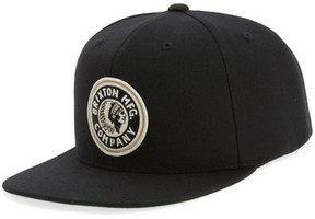 Brixton Men's 'Rival' Snapback Cap - Black