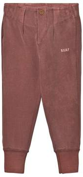 Bobo Choses Dusty Ceder Button Trackpants