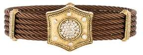 Charriol 18K & Steel Diamond Bracelet