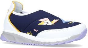 Fendi Monster Eyes Neoprene Sneakers