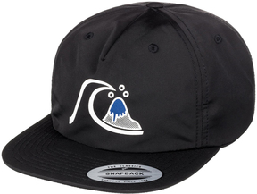Quiksilver Black Authenticated Ball Cap