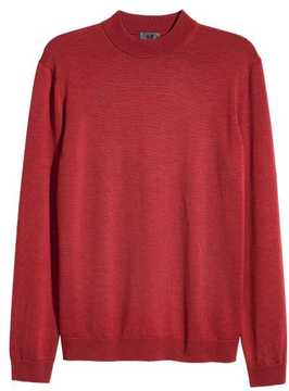 H&M Wool Mock Turtleneck Sweater