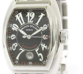 Franck Muller Conquistador 8005HSC Stainless Steel Automatic 35mm Mens Watch